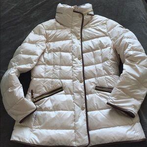 Basler Jackets & Blazers - Basler Cream down fill puffer coat (like moncler)
