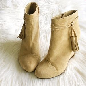 Forever 21 Shoes - Tassel Wedge Boots