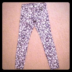 NWT Patterned Express Jeans size 2