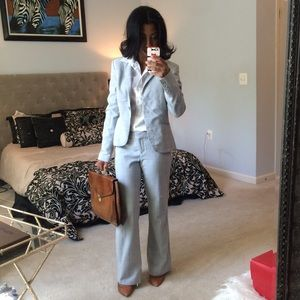 Express Grey Full Suit Size 2