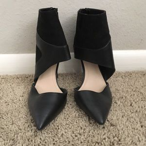 ZARA POINTED TOE HEEL BOOTY