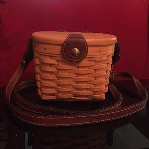 Longaberger Handwoven Basket Purse