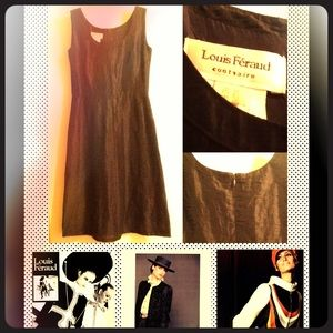 Louis Feraud Dresses & Skirts - 👗VINTAGE 👗LOUIS FERAUD Linen Blend Dress👗