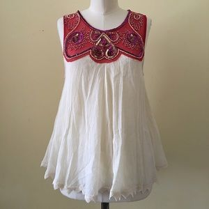 Free People Tops - Beaded Free People Top