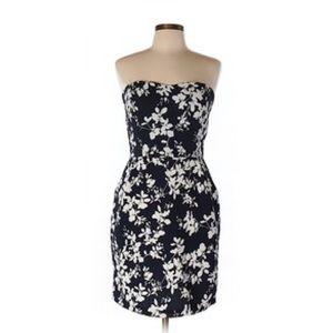 Mystic Dresses & Skirts - Navy blue floral sheath dress