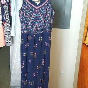 Xhilaration Dresses & Skirts - Aztec print maxi dress