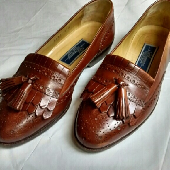 Cole Haan Bragano Shoes Made In Italy