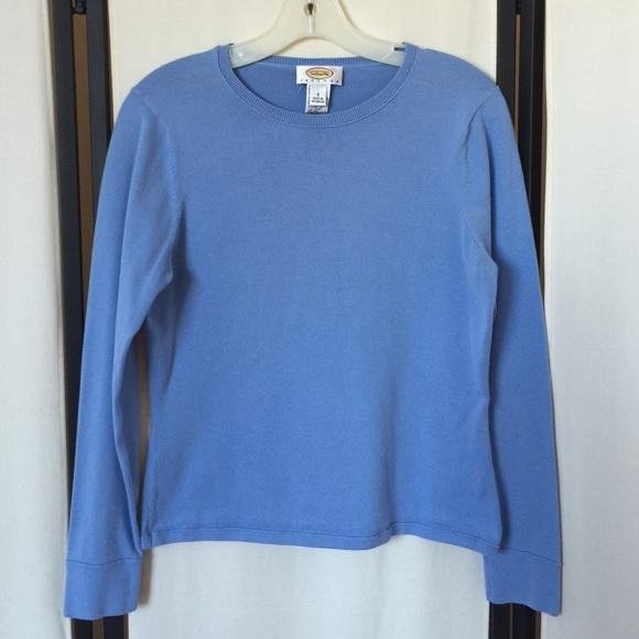 99% off Talbots Sweaters - Talbots long sleeve cotton/lycra ...