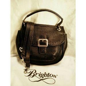 "Brighton Handbags - 💥NEW💥BRIGHTON ""BECKETT""  PBLED LTHR w/ BAG"
