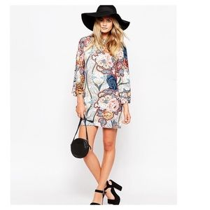 ASOS Dresses & Skirts - Kimono sleeve floral print dress