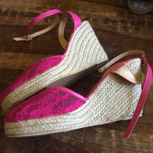 71 torrid shoes torrid pink lace wedges from l s