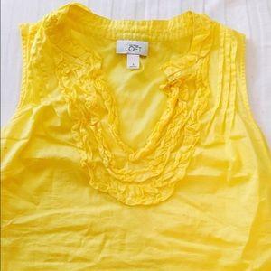 Yellow LOFT Top 🍋