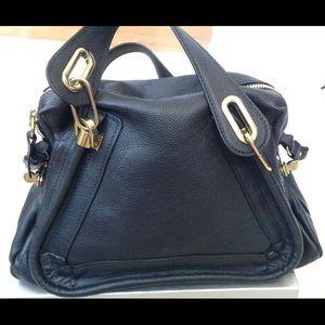 blue chloe handbag
