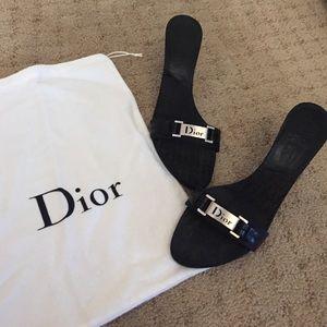 Dior Shoes - 100% Authentic Black Dior Heels!