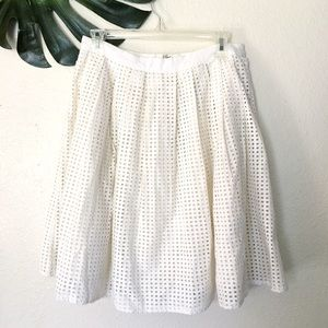 Joie Dresses & Skirts - Joie white eyelet skirt