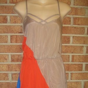 Mimi Chica Dresses & Skirts - Mimi Chica Colorblock Spaghetti Strap Dress