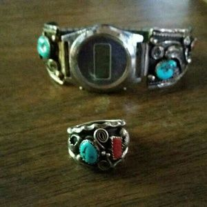 Accessories - Sterling silver and turquoise