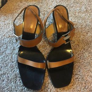 Casadei Shoes - Casadei Made in Italy strap heels. Tan.