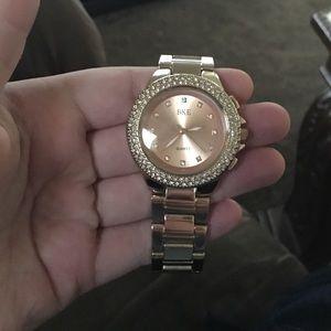 BKE Jewelry - BKE rose gold watch