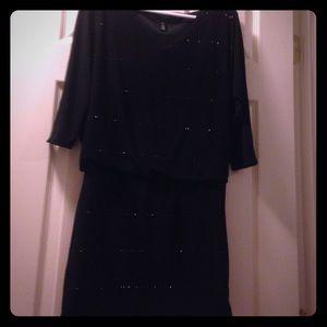 White House Black Market XXS black dress