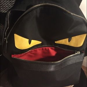 211ac0997f83 Fendi little monster backpack