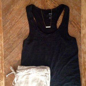 Urban Outfitters Tops - Urban Outfitters BDG Black Burnout Racerback Top