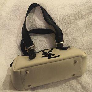 de3d6e3f4e Yves Saint Laurent Bags - Black and white 100% authentic YSL purse