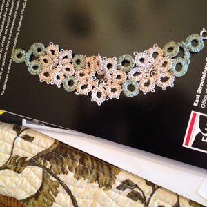Jewelry - Homemade BOHO flower bracelet.