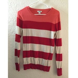 Old Navy Striped Lightweight Sweater