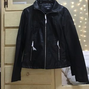 Kenneth Cole Leather Jacket.