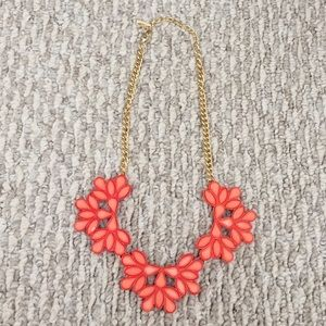 Jewelry - Orange Coral Statement Necklace