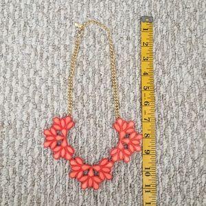 Jewelry - Orange Coral Statement Necklace