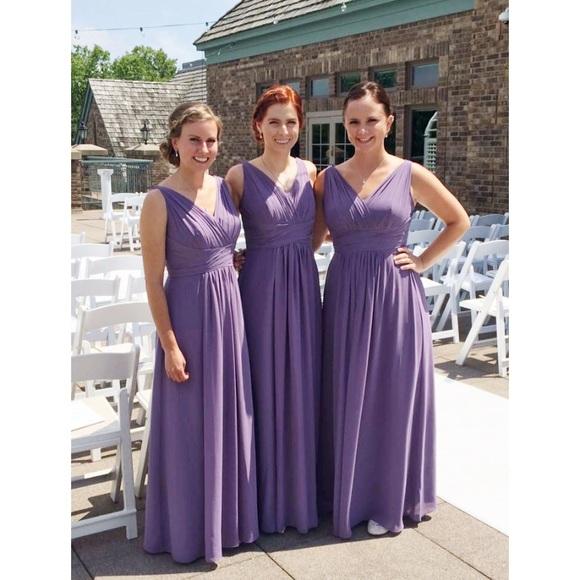 79e46c2da4 Bill Levkoff Dresses   Skirts - Bill Levkoff Victorian Lilac bridesmaids  dress
