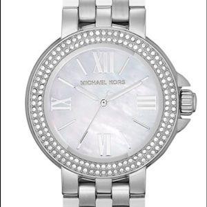 Michael Kors 'Lucy' Crystal Bezel Watch