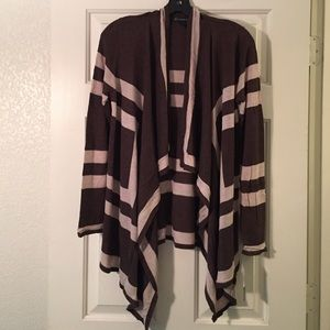INC International Concepts Sweaters - INC Open-Front Waterfall Cardigan.