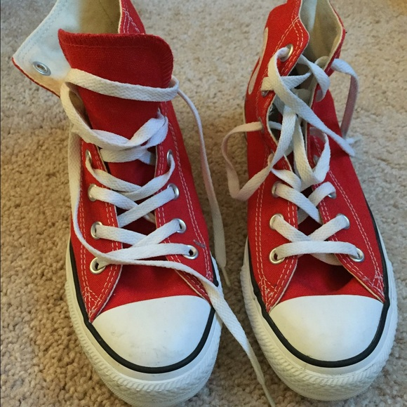 1c6a447ee638 Converse Shoes - Red Converse All Star Classic Chucks