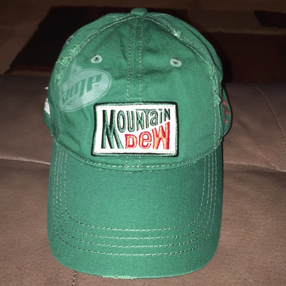 3f256876bf257 Accessories - Mountain Dew Fitted Hat