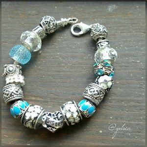 Salty Grace  Jewelry - Sister charm bracelet, european style