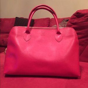 Red Italian handbag