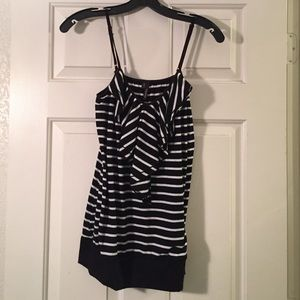 Maurices Tops - Maurices Ruffle Front Tank.