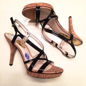 Michael Kors Shoes - NEW [Michael Kors] cork sandal heels size 8.5