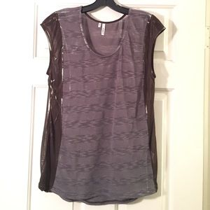 Studio Y Tops - Studio Y Burnout Sleeveless Sweater.