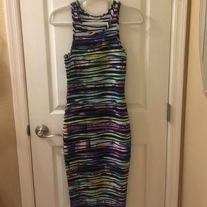 Dresses & Skirts - Multicolored Midi Dress