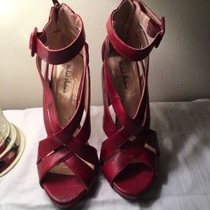 Michael Antonio Gorgeous Red Heels 7! Never worn