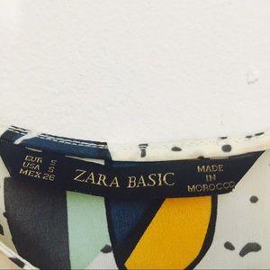 Zara Tops - Playful pattern Zara blouse