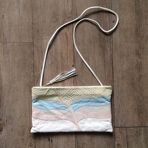 Vintage Pastel Crossbody Bag