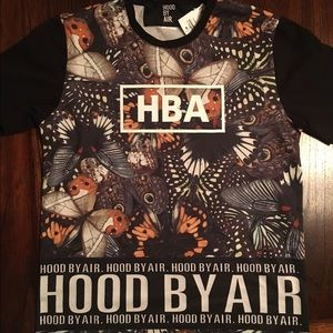 Hood By Air Tops - HBA /// Hood By Air Butterfly Top