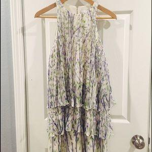 Adam Dresses & Skirts - BNWT Adam floral pleated layered dress 100% silk