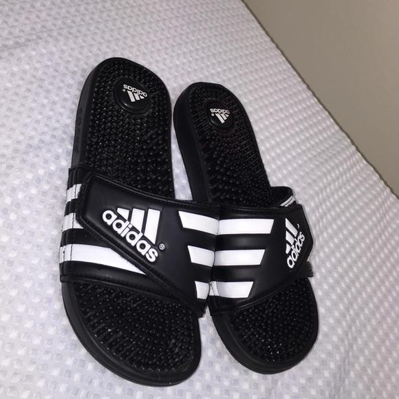 adidas Shoes | Adidas Slide Ons | Poshmark