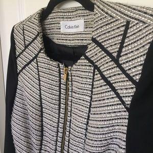 Calvin Klein Jackets & Coats - Modern Tweed Jacket | Calvin Klein